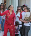 Jennifer Lopez, Casper Smart, Max Anthony and Emme Anthony