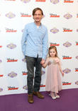 Mackenzie Crook and daughter Scout Crook