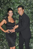 Mario Lopez and Courtney Mazza