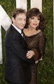 Martin Short and Joan Collins