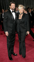 Hugh Jackman, Deborra-Lee Furness, Oscars