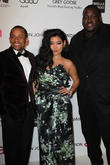 Hill Harper, Chloe Flower and Quinton Aaron