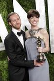 Anne Hathaway and Adam Shulman
