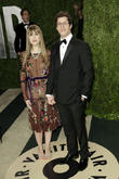 Comedian Andy Samberg and Joanna Newsom