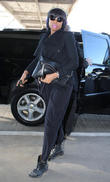 Jennifer Hudson arrives at LAX