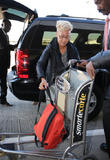 Emeli Sande Arrives At LAX Airport