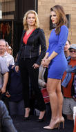 Laurie Holden and Maria Menounos
