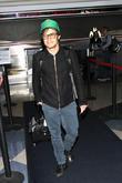Actor Gael Garcia Bernal arrives at LAX in...