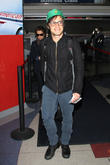 actor gael garcia bernal arrives at lax in a casual 260213