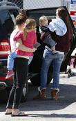 Jennifer Garner, Samuel Affleck and Seraphina Affleck