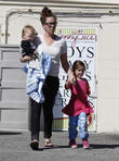 Jennifer Garner, Samuel Affleck and Seraphina Affleck