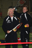 Richard Branson and Andrew Castle