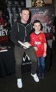 Wayne Rooney and Josh Tompson