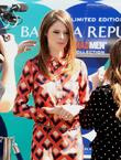 Model Coco Rocha debuts the Banana Republic Mod Pod