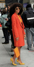 Solange Knowles - Celebrities Outside The...