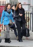 American film producer Barbara Broccoli out and about