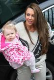 Michelle Heaton and daughter Faith Hanley