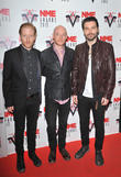 Biffy Clyro, Ben Johnson, Simon Neil and James Johnson