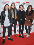Peace, Michael Brusco, Liane Ryan, Andrew Proctor, Zane Linehan, NME Awards
