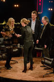 Britt Ekland, Dido and Fredrik Skavlan