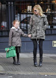 Geri Halliwell school run