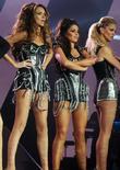 Girls Aloud, Nadine Coyle, Cheryl Cole and Sarah Harding
