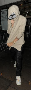 Justin Bieber celebrates his 19th birthday out and about in London