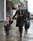 Myleene Klass school run