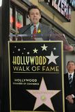 Richard Burton is honoured with a Hollywood Star