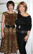 Gale Anne Hurd and Pat Mitchell