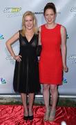 Angela Kinsey and Ellie Kemper