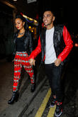 Leigh-ann Pinnock and Jordan Kiffin
