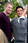 Sean Lowe, The Bachelor and Mario Lopez