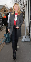 Holly Willoughby arriving at the Riverside Studios.