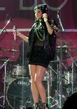 Tulisa performing live in concert