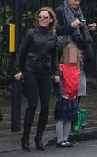 Geri Halliwell and Bluebell Madonna Halliwell