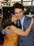 James Franco and Betsy Franco