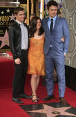Dave Franco, James Franco, Betsy Franco, Walk of Fame