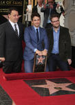 Sam Raimi, James Franco, Seth Rogen, Walk of Fame