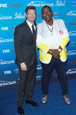 Randy Jackson and Ryan Seacrest