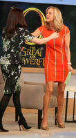 Lara Spencer, Rachel Weisz, Good Morning America
