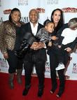 Mike Tyson, Mikey Tyson, Milan Tyson, wife Kiki Tyson and son Morocco Tyson