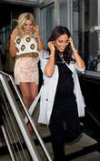 Mollie King, Rochelle Humes and Rochelle Wiseman