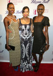 Ajak Deng, Padma Lakshmi and Alex Wek