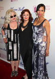 Deborah Harry, Susan Sarandon and Padma Lakshmi