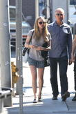 Amanda Seyfried out for lunch