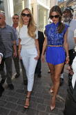 Candice Swanepoel and Alessandra Ambrosio