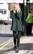 Hetti Bywater seen near the Elstree BBC studios