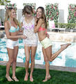 Candice Swanepoel, Karlie Kloss and and Alessandra Ambrosio