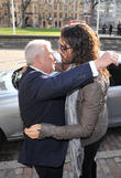 Mitch Winehouse and Russell Brand